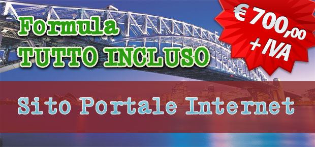 portale web, siti portale internet
